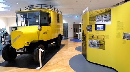 Elektrischer Kraftwagen  Bergmann (BEL 2500), 1925, erreichte eine Geschwindigkeit von 20 km/h.  © Foto: Diether v. Goddenthow