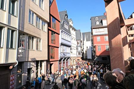 Bürger nehmen ihre Stadt in Besitz - Impression während der Eröffnung am 20. September 2018 © Foto: Diether v. Goddenthow