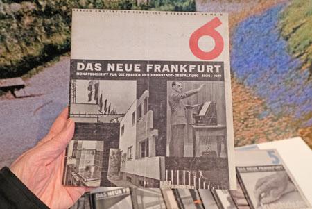 Das Neue Frankfurt. Monatszeitschrift für die Fragen der Großstadtgestaltung 1926 - 1927 © Foto: Diether v. Goddenthow