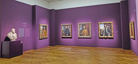 Noble Männer im Porträt Verglichen mit den Belle Donne, sind die venezianischen Männerporträts insofern konventioneller, als sie in der Regel identifizierbare Personen zeigen. © Foto: Diether v. Goddenthow