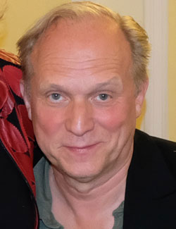 """Ulrich Tukur, Preis für """"Bester Darsteller"""" im HR-Tatort """"Murot und das Murmeltier"""", © Foto: Diether v. Goddenthow"""
