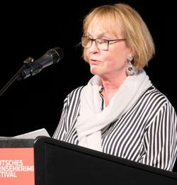 Liane Jessen, Leiterin Fersehspiel beim Hessischen Rundfunk. © Foto: Diether v. Goddenthow