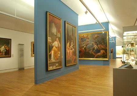 Blick in die Barock-Abteilung © GDKE Rheinland-Pfalz – Landesmuseum Mainz (Foto: Ursula Rudischer)