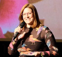 Heleen-Gerritsen, Festivalleiterin. © Foto: Diether v. Goddenthow