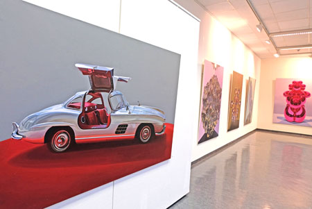 Ausstellungs-Impression. Noch bis zum 17. Mai 2019 im MVB-Forum Mainz zu besichtigen. © Foto: Diether v. Goddenthow