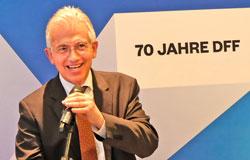 Peter Feldmann, Oberbürgermeister der Stadt Frankfurt.  © Foto: Diether v. Goddenthow