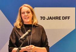 Juliane Maria Lorenz-Wehling, Präsidentin der Rainer Werner Fassbinder Foundation. © Foto: Diether v. Goddenthow