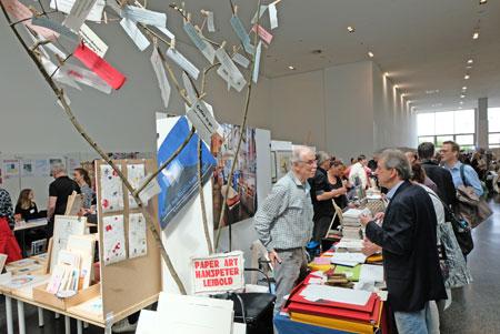 25. Mainzer Minipressenmesse - Internationale Buchmesse der Kleinverlage und Künstlerbücher hat heute ihre Tore geöffnet und geht noch bis zum 2. Juni 2019.© Foto: Diether v. Goddenthow