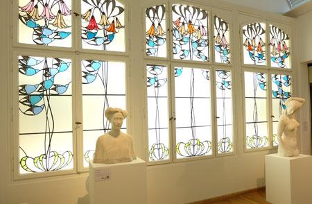 Impression aus dem Museum Künstlerkolonie Darmstadt. © Foto: Diether v. Goddenthow