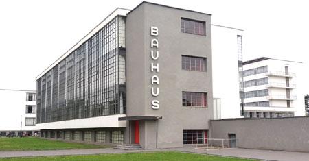Historisches Gebäude der Werkschule von Walter Gropius. © Foto: Diether v. Goddenthow
