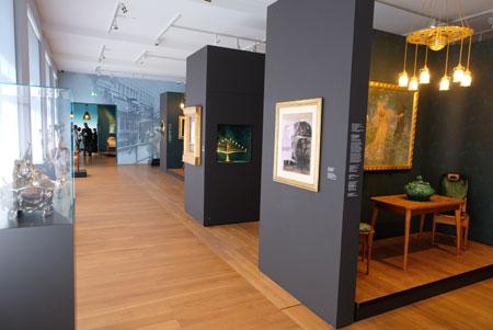 Wohnen im individuellen Gesamtkunstwerk - Ausstellungs-Raum D. © Foto: Diether v. Goddenthow