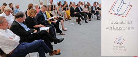 Hessischer Verlagspreis 2019 © Foto: Diether v. Goddenthow