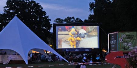 Donnerstag, 04. Juli 2019Shaun das Schaf - Der Film . Open Air Kino in den Reisinger Anlagen Wiesbaden. © Foto: Diether v. Goddenthow