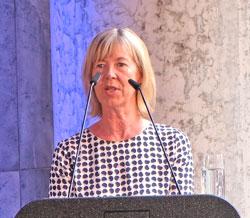 Doris Ahnen, Finanz- und Bauministerin. ©  Foto: Diether  v Goddenthow