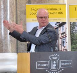 Dr. Markus Harzenetter, Präsident des Landesamtes für Denkmalpflege Hessen.©  Foto: Diether v Goddenthow