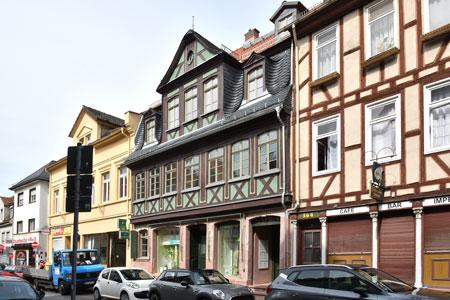 2. Preis unter anderem für Anton Schreibweis für die Sanierung seines historischen Fachwerkwerkhauses in  Frankfurt-Höchst Bolongarostr.166.