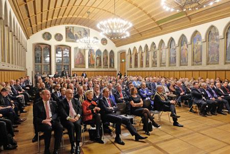 Publikum bei der Podiumsdiskussion zur Paulskirche  ©  Archivbild: Diether v Goddenthow