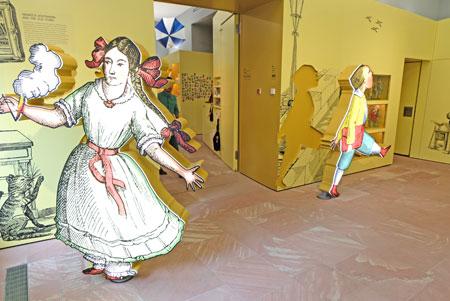 Die Figuren scheinen wie aus der Wand entsprungen.©  Foto: Diether  v Goddenthow