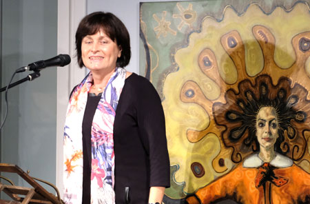 Museumsleiterin Beate Zekorn-von Bebenburg, die Seele des Hauses seit 28 Jahren. ©  Foto: Diether  v Goddenthow
