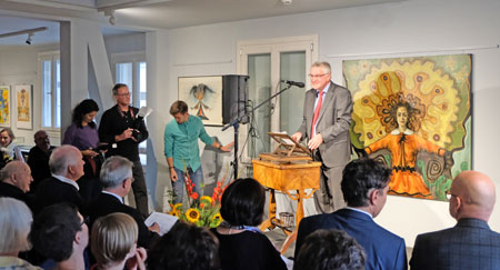 Hartmut Fritz, Vorstandsvorsitzender  der Frankfurter Werkgemeinschaft e.V.©  Foto: Diether  v Goddenthow