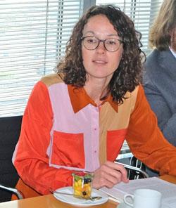Kunst- und Kulturministerin Angela Dorn. ©  Foto: Diether  v Goddenthow