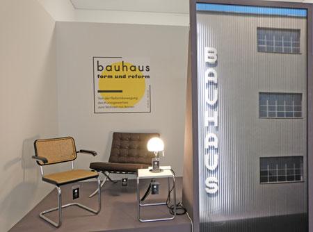 """Landesmuseum Mainz feiert 100 Jahre Bauhaus. ©  Foto: Diether  v Goddenthow Sonderausstellung """"bauhaus – form und reform"""" startet am 15. September."""