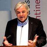 Dr. Helmut Müller, Geschäftsführer des  Kulturfonds-Frankfurt-RheinMain und Wiesbadener Ex-Oberbürgermeister. ©  Foto: Diether  v Goddenthow