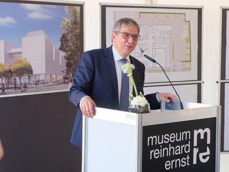 Oberbürgermeister Gert Uwe Mende. ©  Foto: Diether  v Goddenthow
