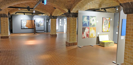 Ausstellungs-Impression. ©  Foto: Diether  v Goddenthow