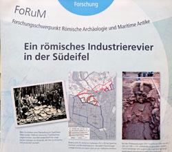 """Schwerpunkt Forschung: """"'Ein römisches Industrierevier in der Südeifel"""" © RGZM"""