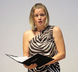 Mezzosopranistin Silke Gäng.©  Foto: Diether  v Goddenthow