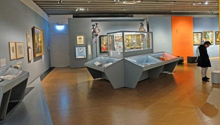Ausstellungs-Impression Malerzünfte. ©  Foto: Diether  v Goddenthow