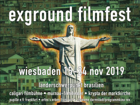 exground filmfest I 15.–24. November 2019 I Wiesbaden