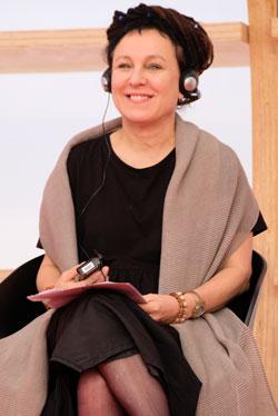 Olga Tokarczuk, Literaturnobelpreis 2018 © Foto: Diether v Goddenthow