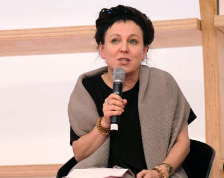 Literaturnobelpreis-Trägerin 2018 Olga-Tokarczuk © Foto: Diether v Goddenthow