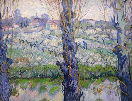 Blick auf Arles (1889, Bayerische Staatsgemäldesammlungen – Neue Pinakothek München) © Foto: Diether v Goddenthow