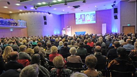 Impression einer Open-Book-Veranstaltung. © Foto: Diether v Goddenthow