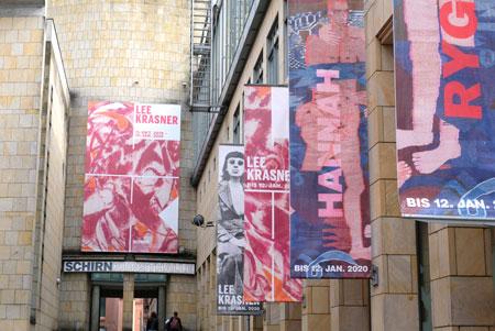 Lee Krasner vom  11.10.2019 bis 12.01.2020 in der Schirn. ©  Foto: Diether  v Goddenthow  Kunsthalle Frankfurt