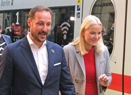 Kronprinz Haakon und Kronprinzessin Mette Marit von Norwegen. © Foto: Diether v Goddenthow