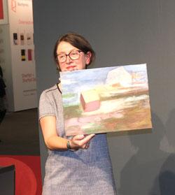 """Sigrid Lemke erhält die """"Barke 2019"""". © Foto: Diether v Goddenthow"""