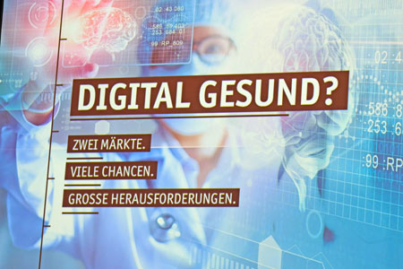 """Leitthema des diesjährigen 28. Hessischen Unternehmertags lautete: """"Digital Gesund?"""" © Foto: Diether v Goddenthow"""