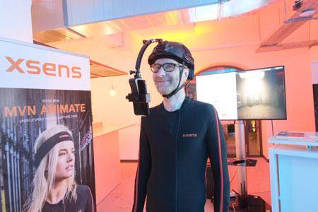 eMotion Xsens liefert bewährte Systeme zur Bewegungserfassung und -analyse für eine Vielzahl von Anwendern, etwa zur Erstellung und Implementierung von Originalbewegungsmustern für  Film-/Video-Animation.  © Foto: Diether v Goddenthow