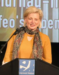 Ulrike Kiesche, Leiterin Abteilung Film und Medien, Großprojekte Film des Hessisches Ministerium für Wissenschaft und Kunst © Foto: Diether v Goddenthow