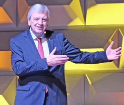 Ministerpräsident Volker Bouffier. © Foto: Diether v Goddenthow