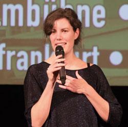 Sophie Linnenbaum gewann den Publikumspreis. © Foto: Diether v Goddenthow