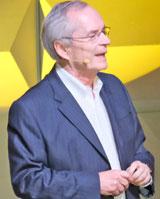 Prof. Dr. Heinz-Walter Große, Vorstandsmitglied der B.Braun Fam-Holding. © Foto: Diether v Goddenthow