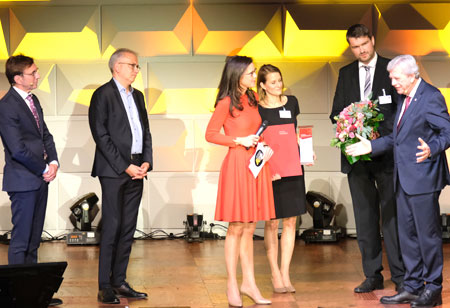Hessen Champion Kategorie Weltmarktführer : Hexagon Manufacturing Intelligence, Wetzlar.  © Foto: Diether v Goddenthow