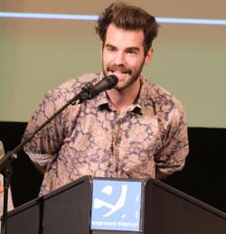 Regisseur Alexander Conrads gewann mit LÖWIN im Wiesbaden Special – Kurzfilm-Wettbewerb. © Foto: Diether v Goddenthow