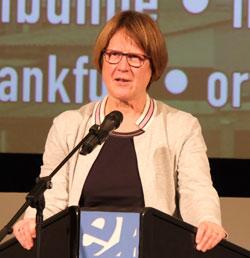 Karin Wolff, Geschäftsführerin Kulturfonds RheinMain. © Foto: Diether v Goddenthow