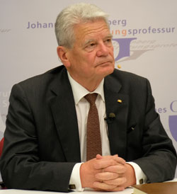 Bundespräsident a. D. Joachim Gauck © Foto: Diether v Goddenthow